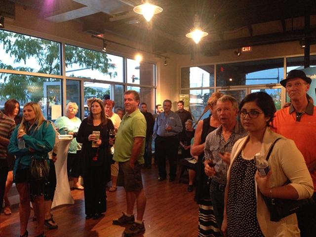 South Okanagan Chamber of commerce network night landsea osoyoos news