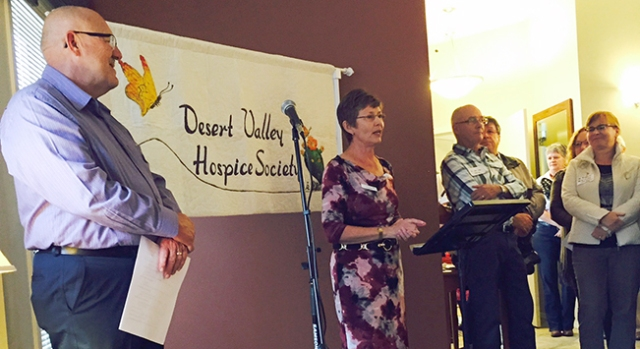 Desert Valley Hospice Ribbon Cutting