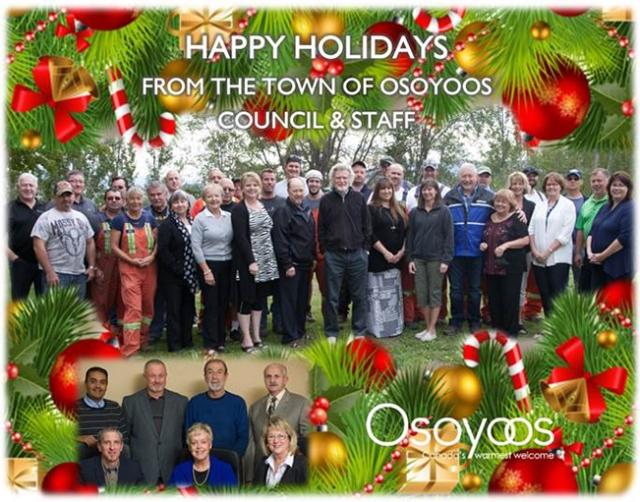 town of osoyoos christmas greeting